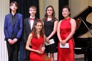Finalists of the 2020 Gloucestershire Young Musician Competition